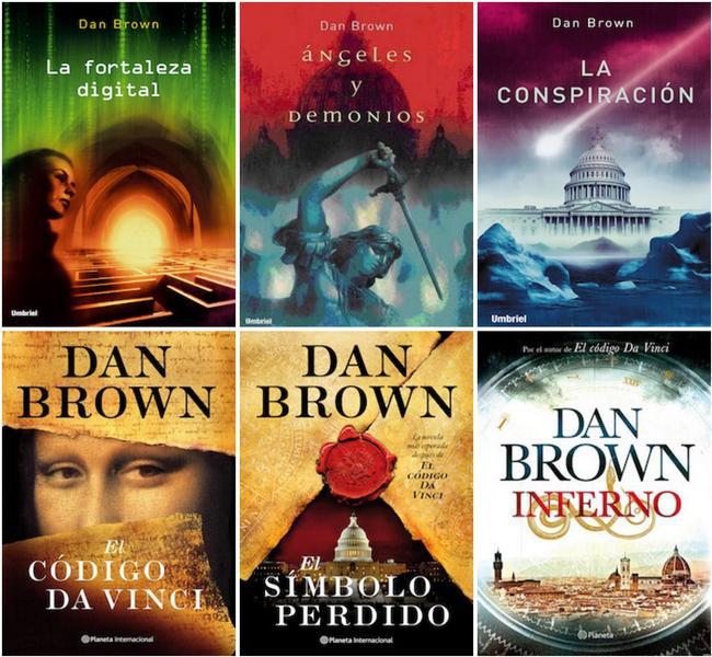libros dan brown