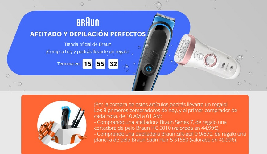 BRAUN EN ALIEXPRESS